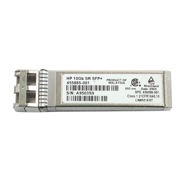 hp 455885-001 10gb sr sfp optical gigabit ethernet transceiver thumb maychusaigon